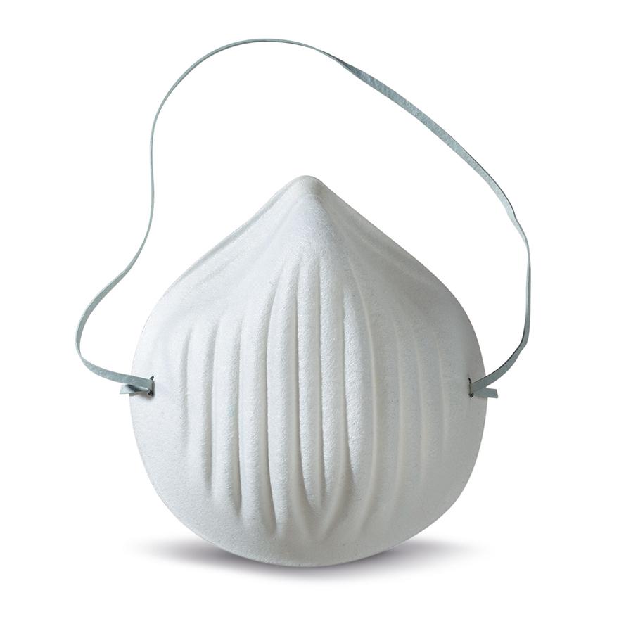 Atemschutz Maske mit elastischem Band in einfacher Ausführung