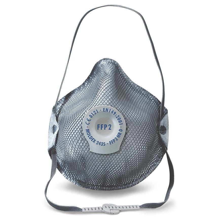 Atemschutz Maske Moldex 2435 FFP2 mit elastischem Band