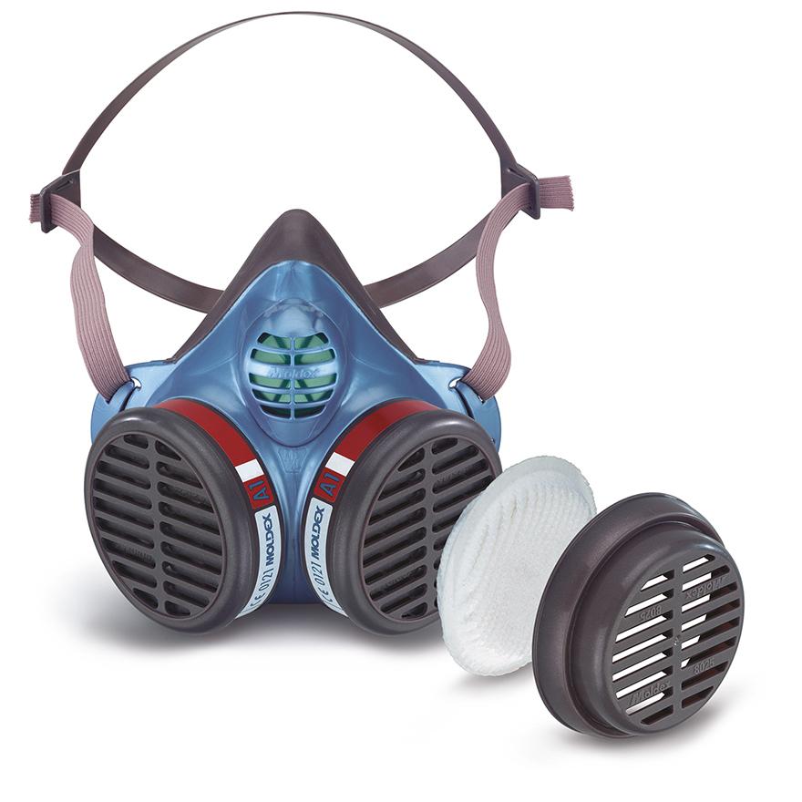 Atemschutz Maske mit Partikelfilter von Moldex