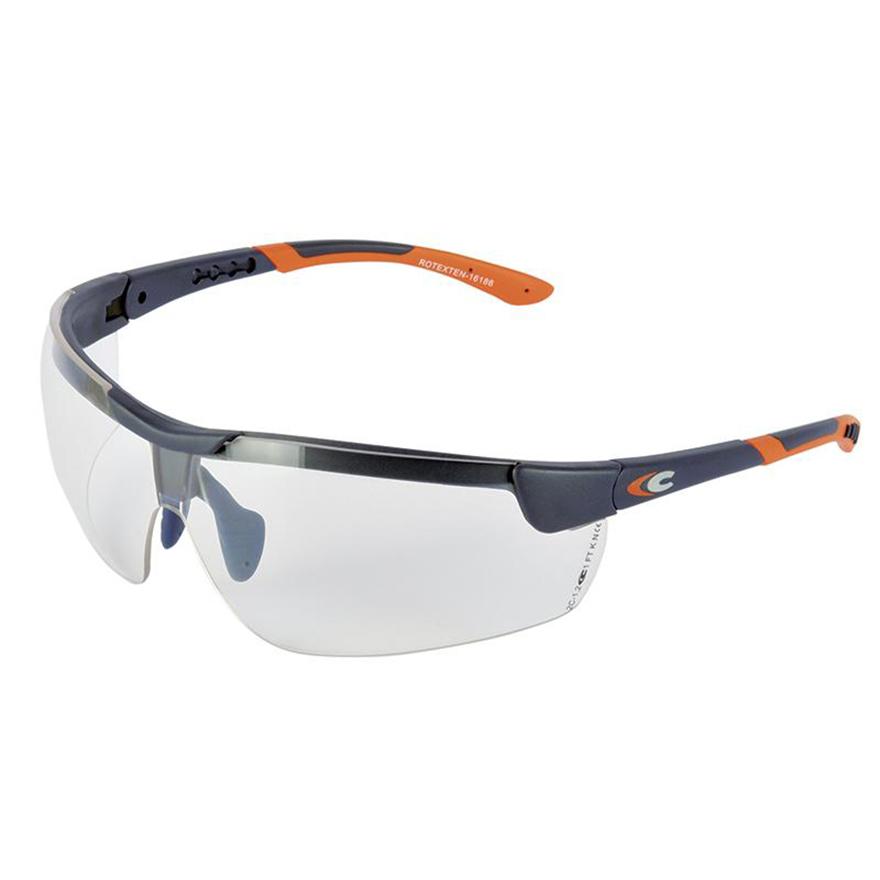 Schutzbrille Rotexten von Cofra mit längenverstellbarem Bügel