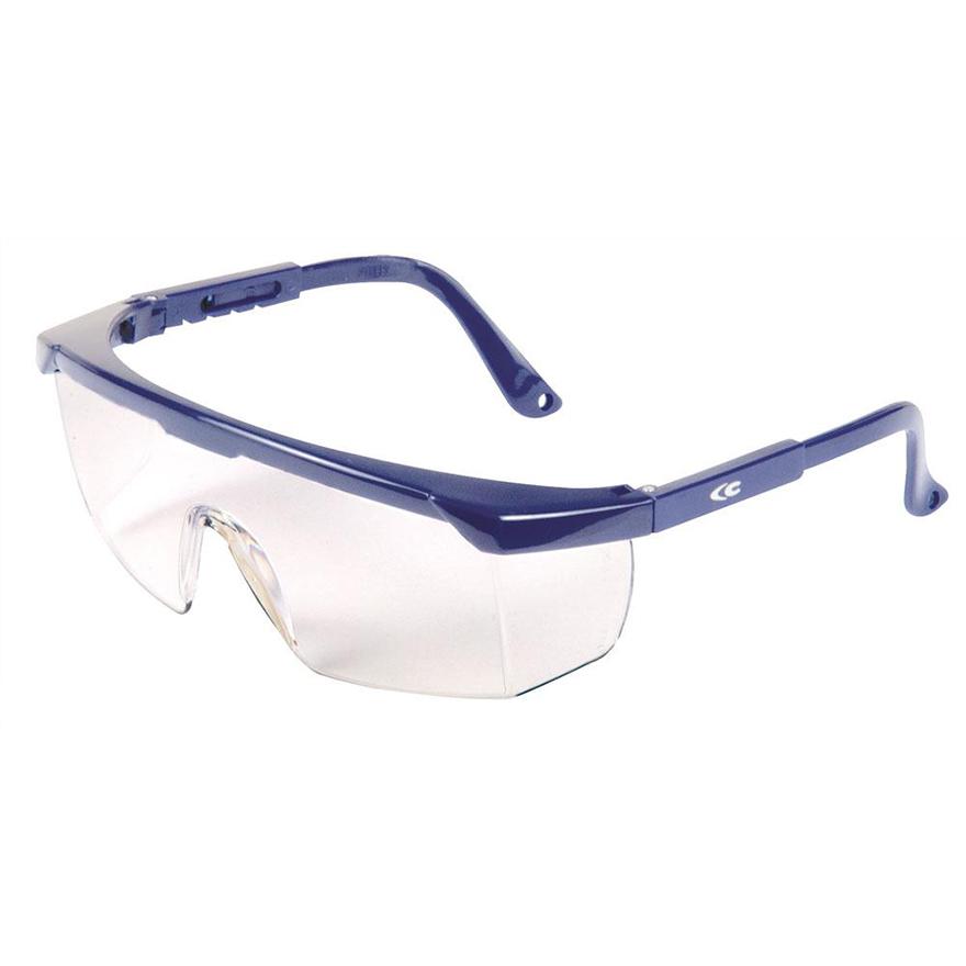Schutzbrille mit längenverstellbarem Bügel und Seitenschutz von Cofra