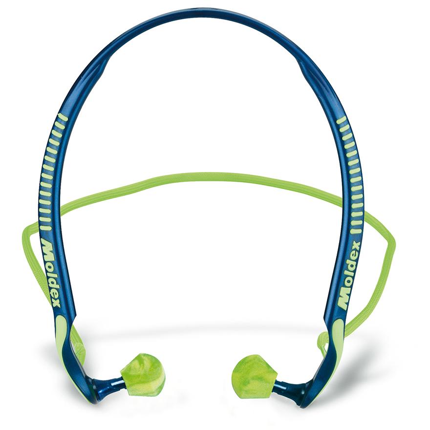 Gehörschutz Bügel verbunden mit Band